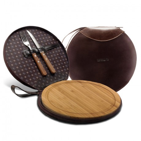 SET PARRILLERO HEREFORD CHOCOLATE